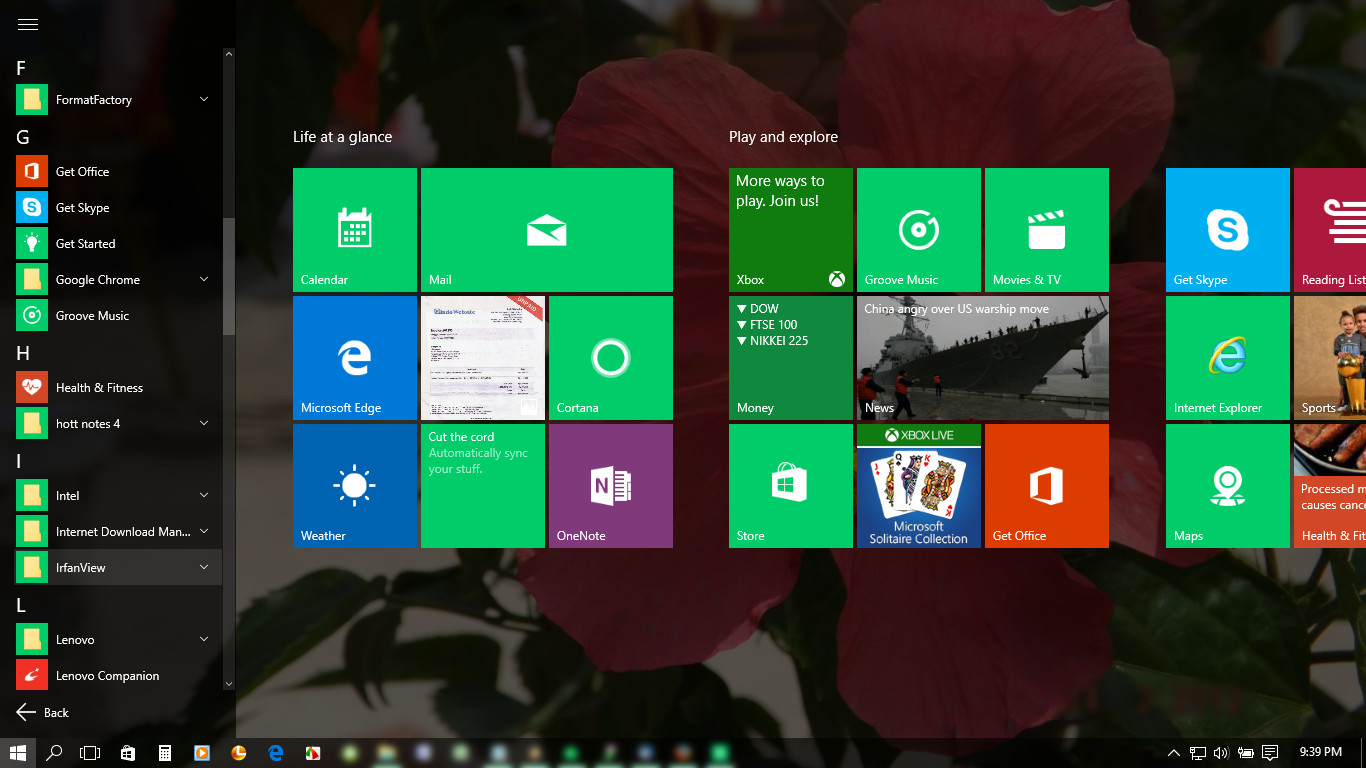 Start Menu Windows8