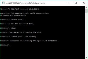 diskpart windows